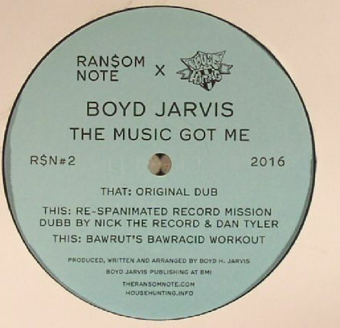 JARVIS, Boyd - The Music Got Me (remastered)