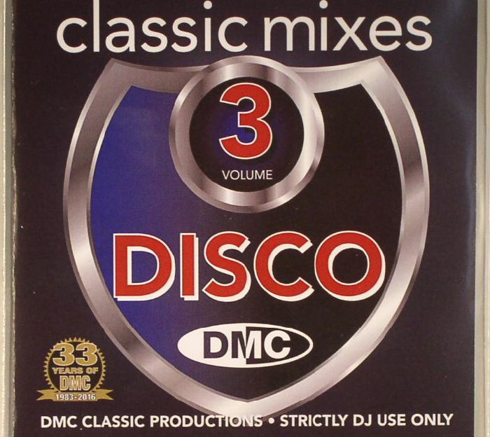 VARIOUS - Classic Mixes: Disco Volume 3 (Strictly DJ Only)