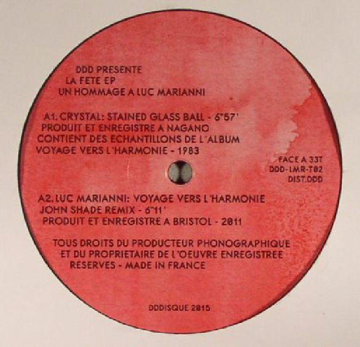 MARIANNI, Luc/CRYSTAL - La Fete EP