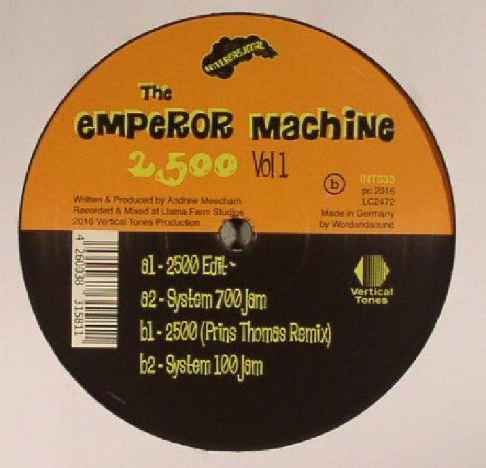 EMPEROR MACHINE, The - 2500 Vol 1