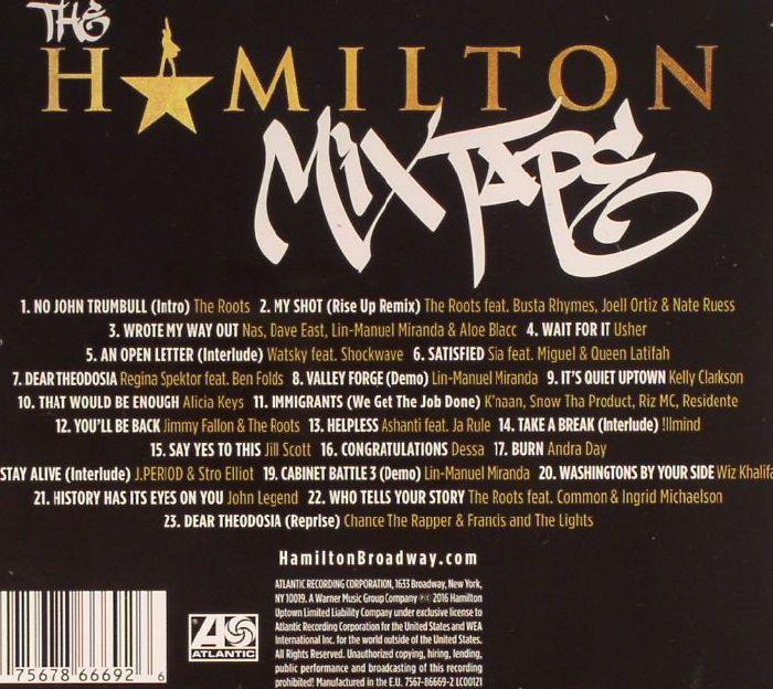 Various The Hamilton Mixtape Vinyl At Juno Records