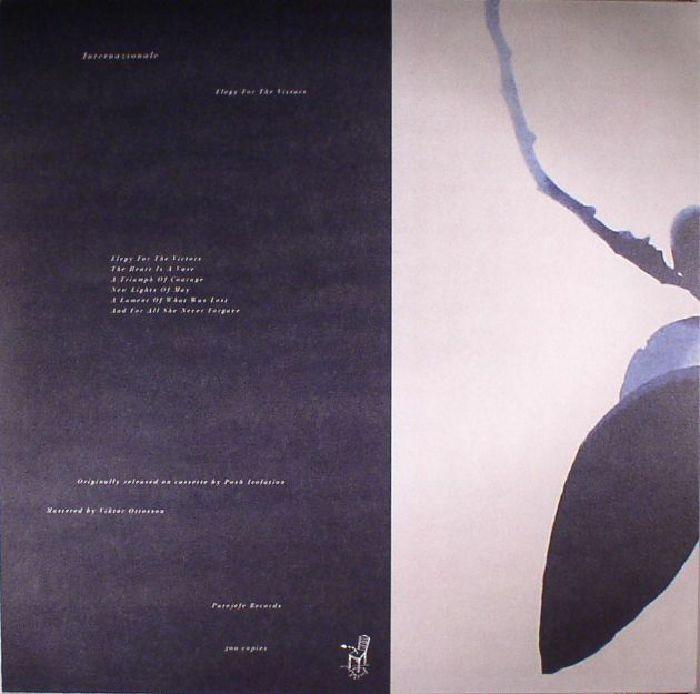 INTERNAZIONALE - Elegy For The Victors (reissue)