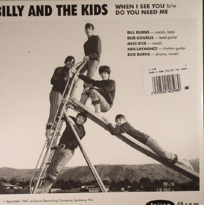 BILLY & THE KIDS - When I See You (reissue)