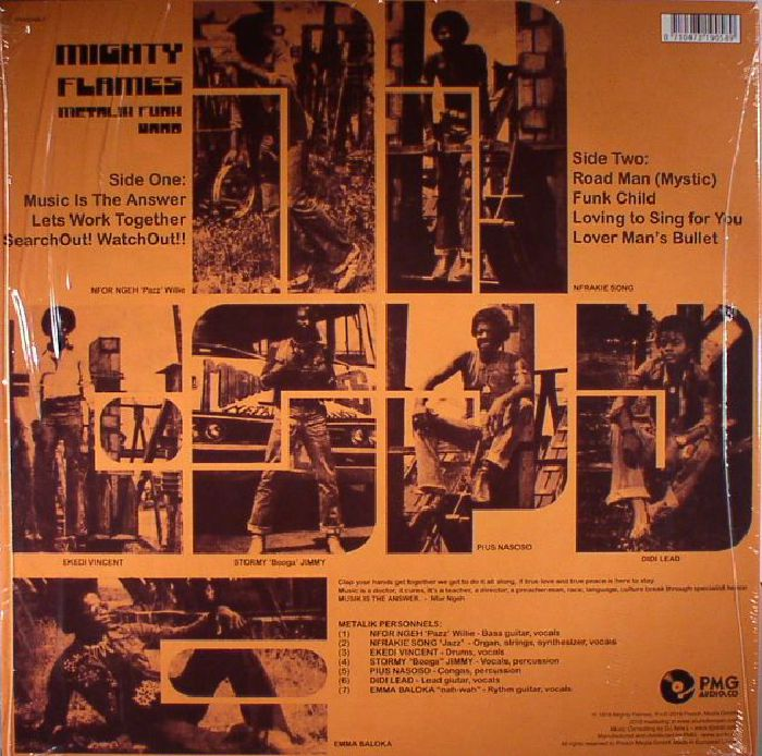 MIGHTY FLAMES - Metalik Funk Band (reissue)