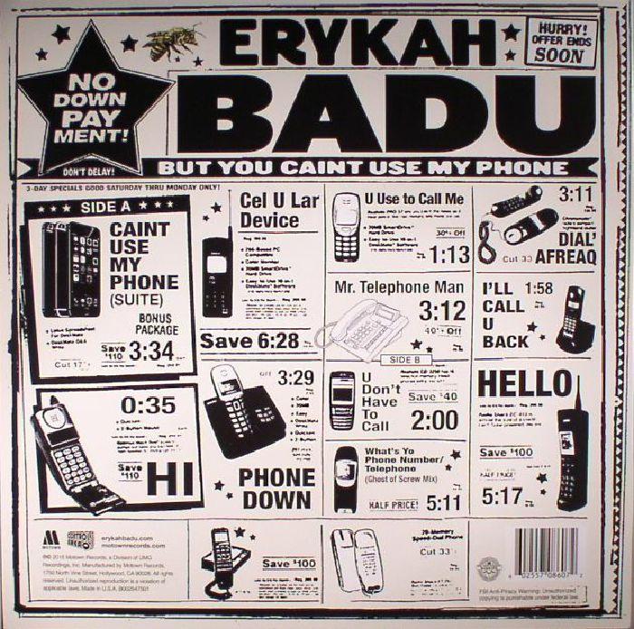 BADU, Erykah - But You Caint Use My Phone