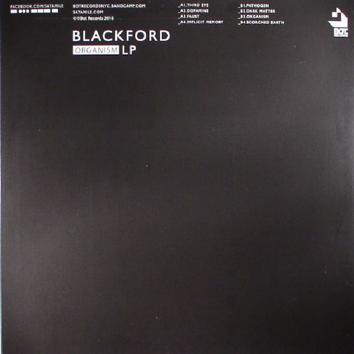 BLACKFORD - Organism