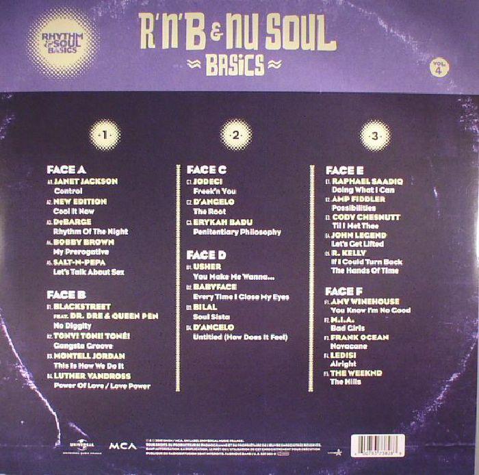 VARIOUS - Rhythm & Soul Basics Vol 4: R'n'B & Nu Soul Basics