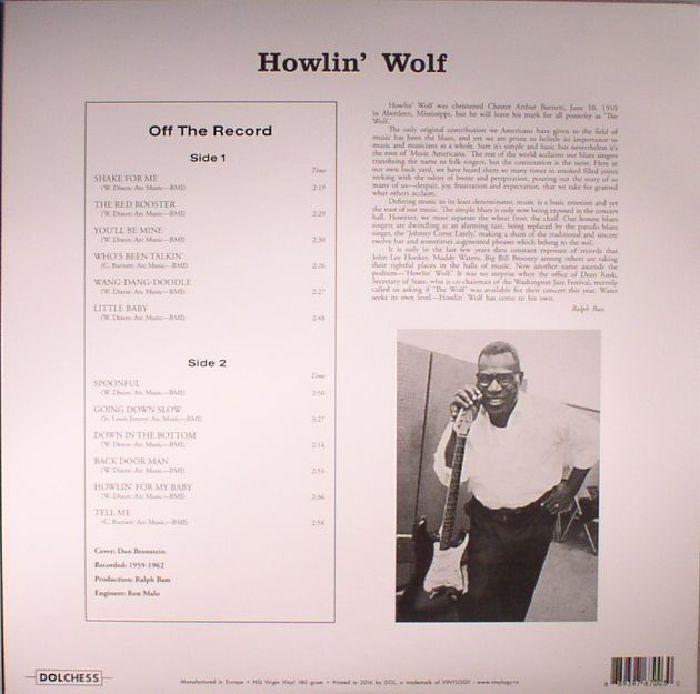 HOWLIN' WOLF - Howlin' Wolf (reissue)