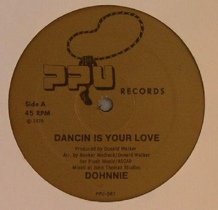 DOHNNIE - Dancin Is Your Love