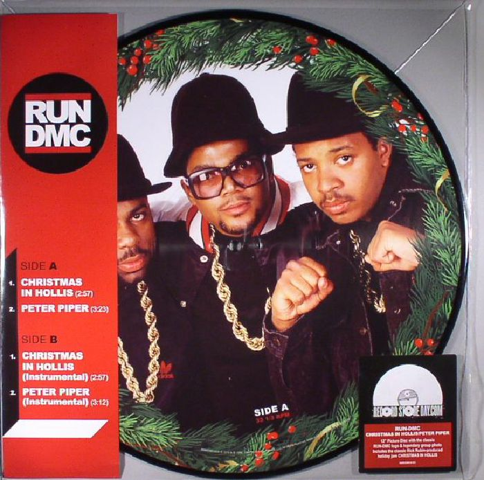 RUN DMC Christmas In Hollis vinyl at Juno Records.