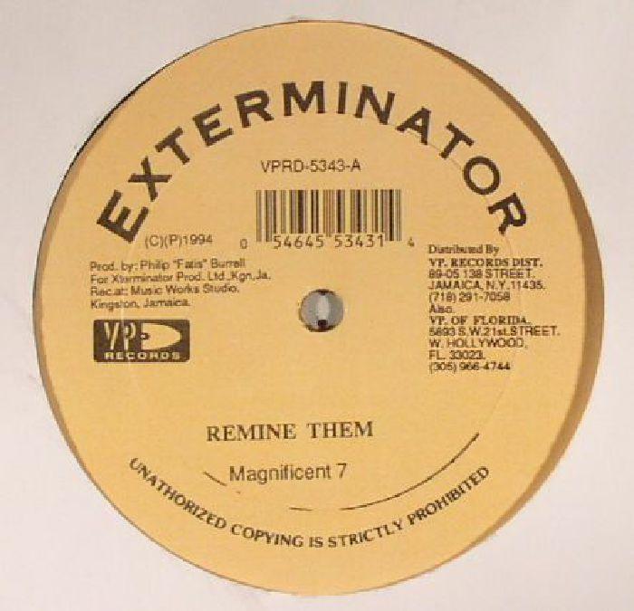 MAGNIFICENT 7/RISTO BENJIE - Remine Them