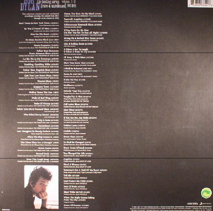 DYLAN, Bob - The Bootleg Series: Volumes 1-3 Rare & Unreleased 1961-1991