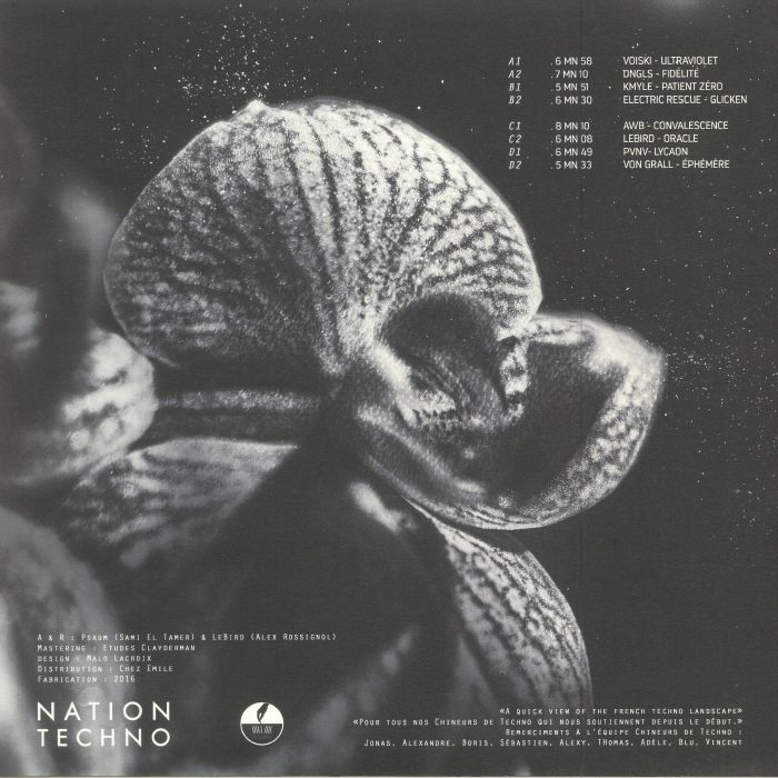 VARIOUS - Nation Techno: France