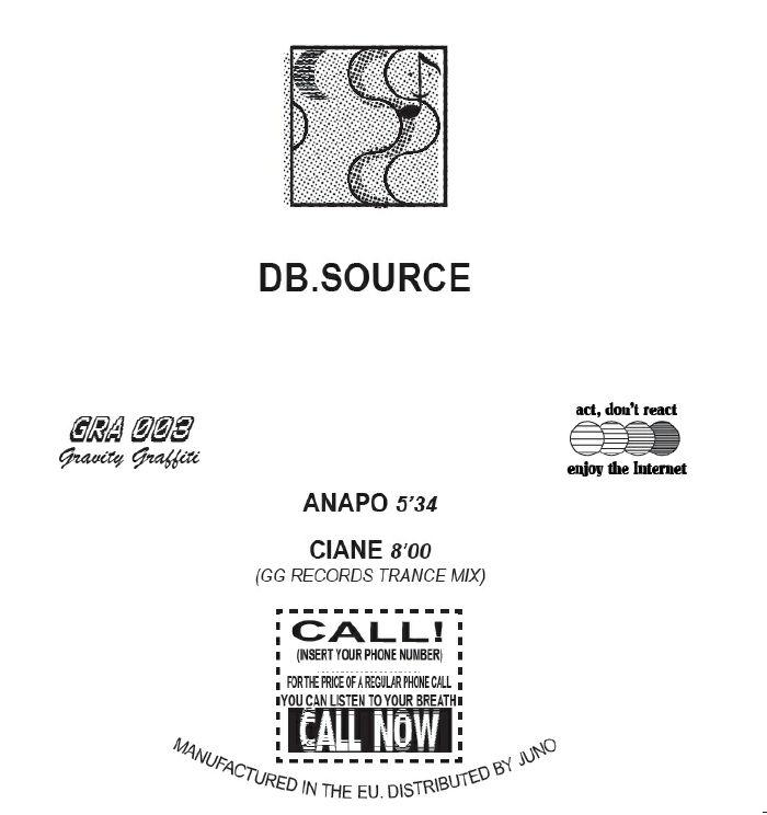 HAYASHI, Yoshinori/DB.SOURCE - Square Sun/Anapo