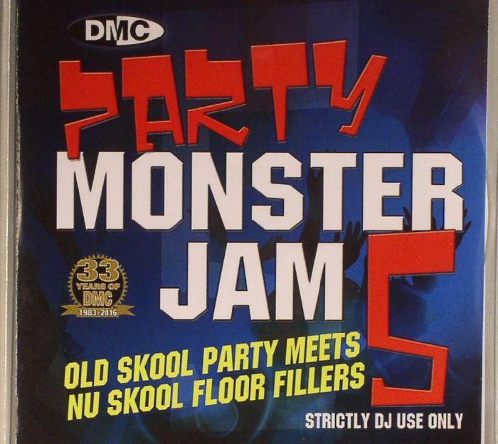 VARIOUS - Party Monsterjam 5: Old Skool Party Meets Nu Skool Floor Fillers (Strictly DJ Only)