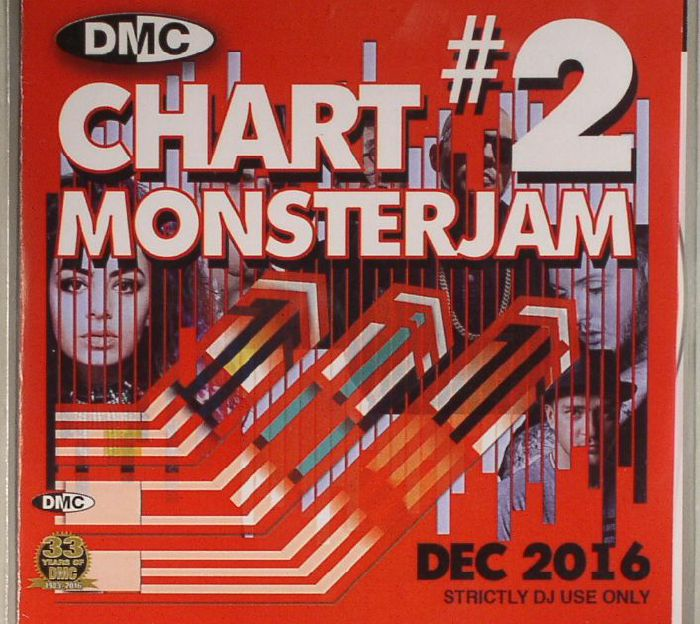 VARIOUS - DMC Chart Monsterjam #2 Dec 2016 (Strictly DJ Only)