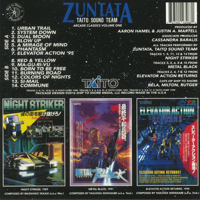 ZUNTATA TAITO SOUND TEAM - Arcade Classics Volume One
