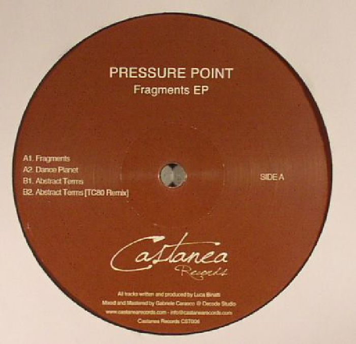PRESSURE POINT - Fragments EP