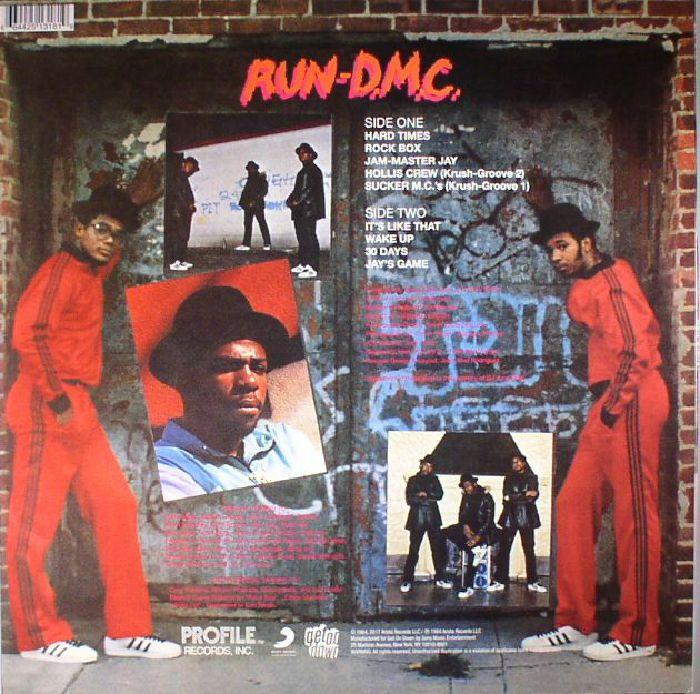RUN DMC - Run DMC (reissue)