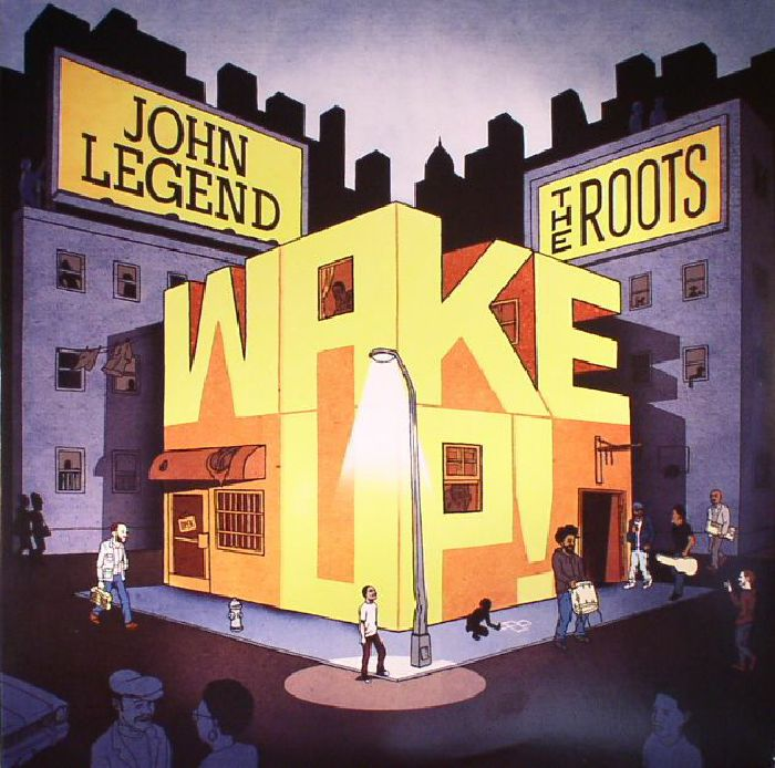 LEGEND, John/THE ROOTS - Wake Up!