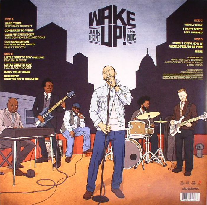 John Legend The Roots Wake Up Vinyl At Juno Records