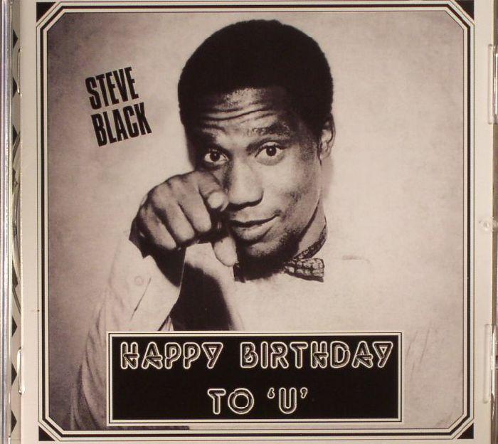BLACK, Steve - Happy Birthday To U