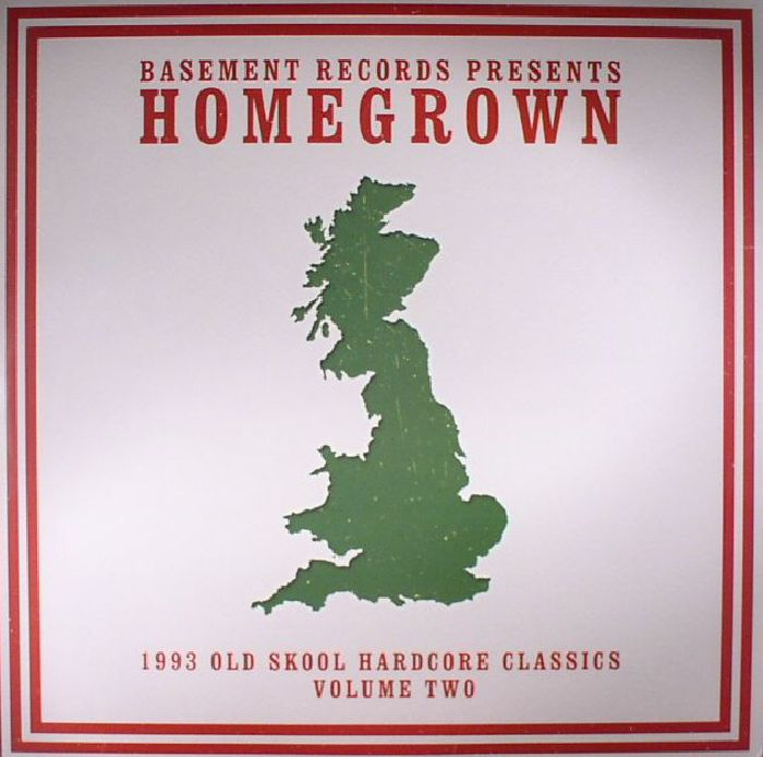 Various homegrown 1993 old skool hardcore classics volume for Old skool house classics list