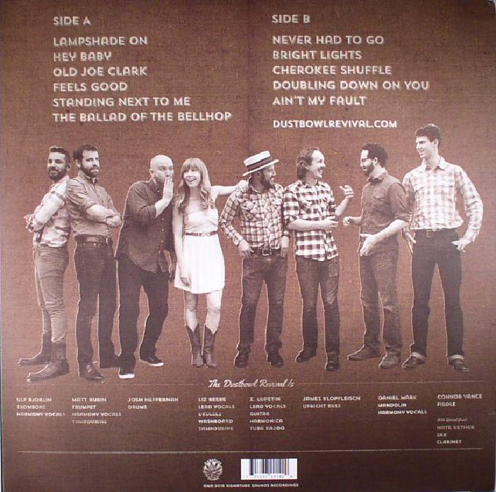DUSTBOWL REVIVAL, The - With A Lampshade On