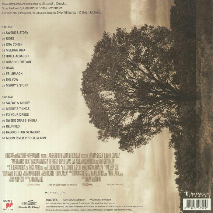 DESPLAT, Alexandre - American Pastoral (Soundtrack)