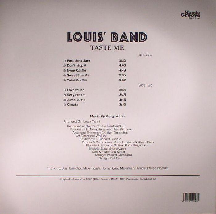 LOUIS BAND - Taste Me (reissue)