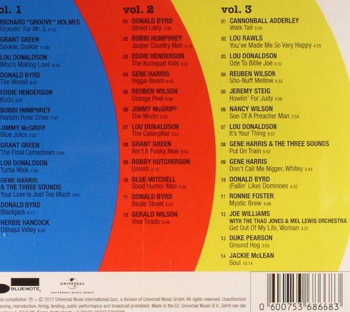 VARIOUS - Blue Break Beats: The Jazz Break Beats That Made Hip Hop Hits