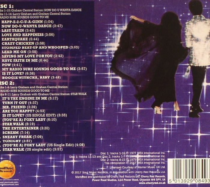 GRAHAM CENTRAL STATION/LARRY GRAHAM - Now Do U Wanta Dance/My Radio Sure Sounds Good To Me/Star Walk