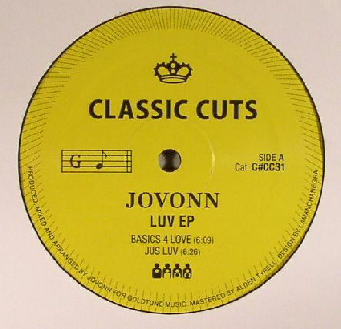 JOVONN - Luv EP