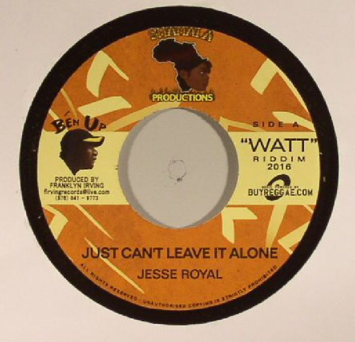 JESSE ROYAL - Just Can't Leave It Alone
