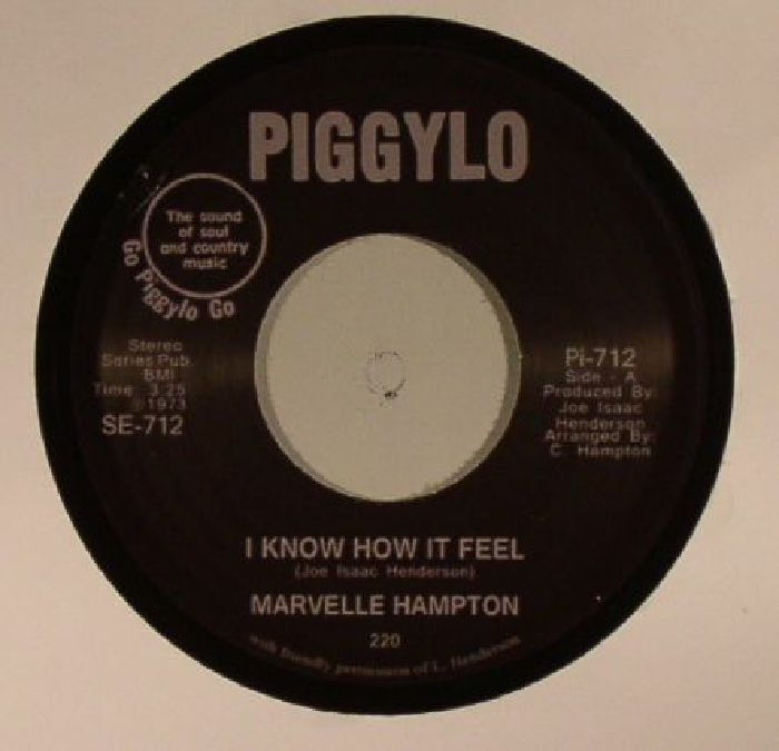 HAMPTON, Marvelle - I Truly Believe (In Love)