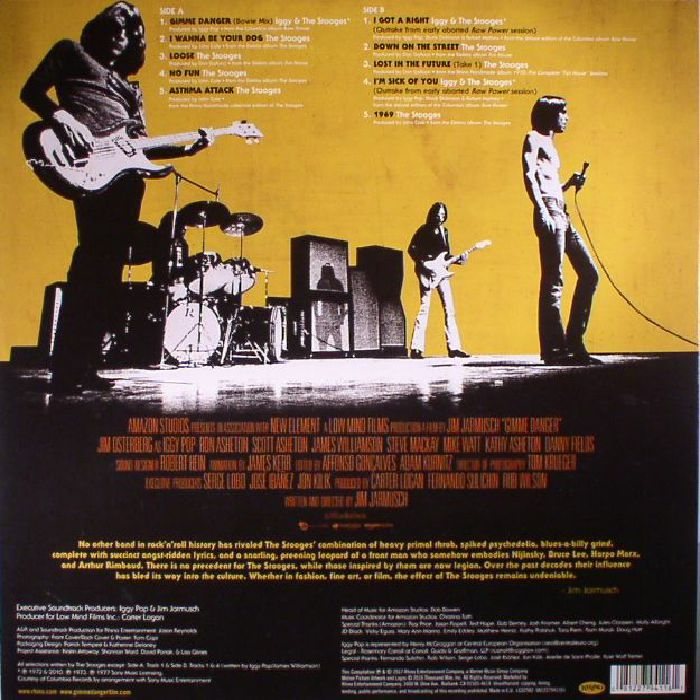 IGGY/THE STOOGES - Gimme Danger: The Story Of The Stooges (Soundtrack)