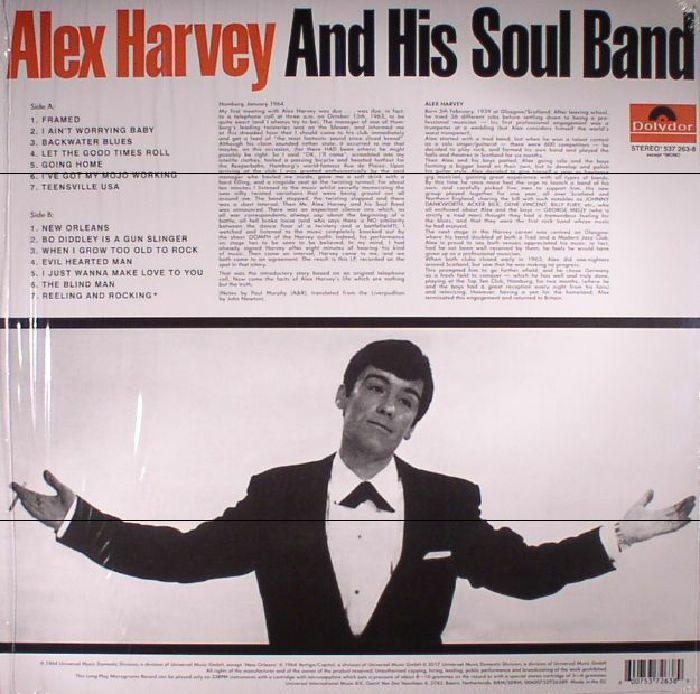 HARVEY, Alex & HIS SOUL BAND - Alex Harvey & His Soul Band (remastered)