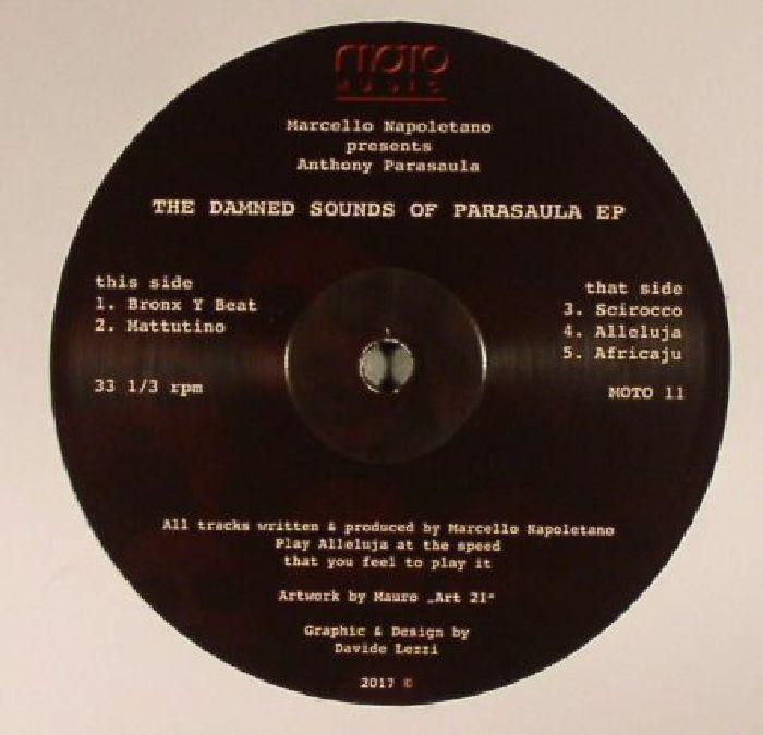 NAPOLETANO, Marcello presents ANTHONY PARASAULA - The Damned Sounds Of Parasaula EP