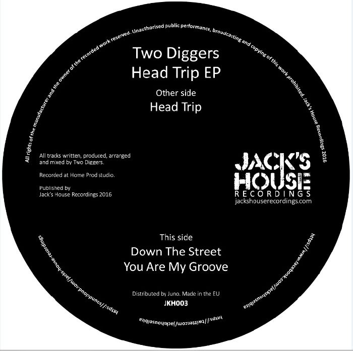 TWO DIGGERS - Head Trip EP