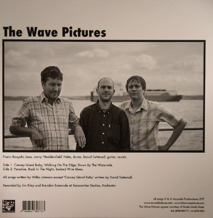 WAVE PICTURES, The - Canvey Island Baby