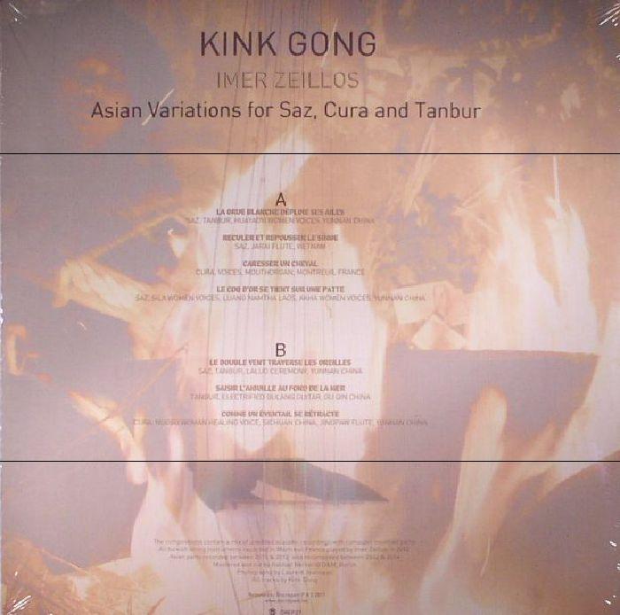 KINK GONG - Imer Zeillos (Asian Variations For Saz Cura & Tanbur)