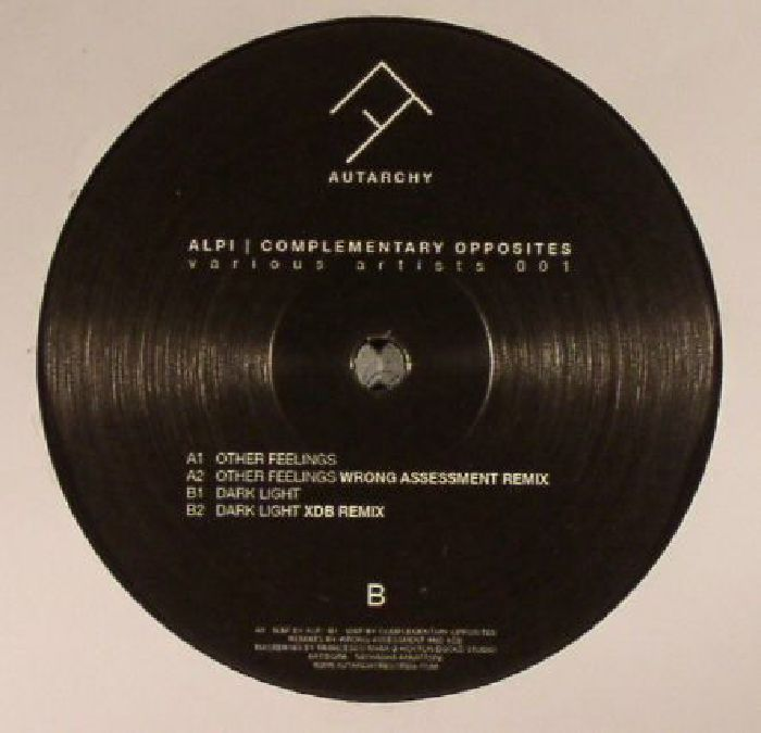 ALPI/COMPLEMENTARY OPPOSITES - Various Artists 001