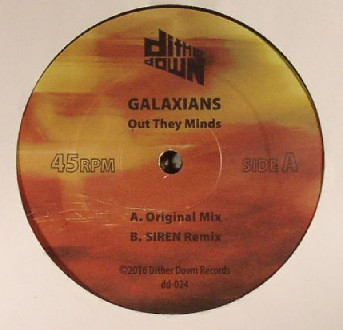 GALAXIANS - Out They Minds