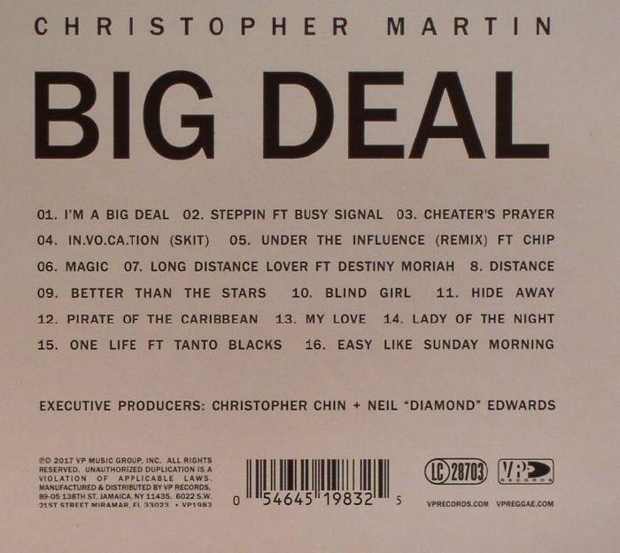 MARTIN, Christopher - Big Deal