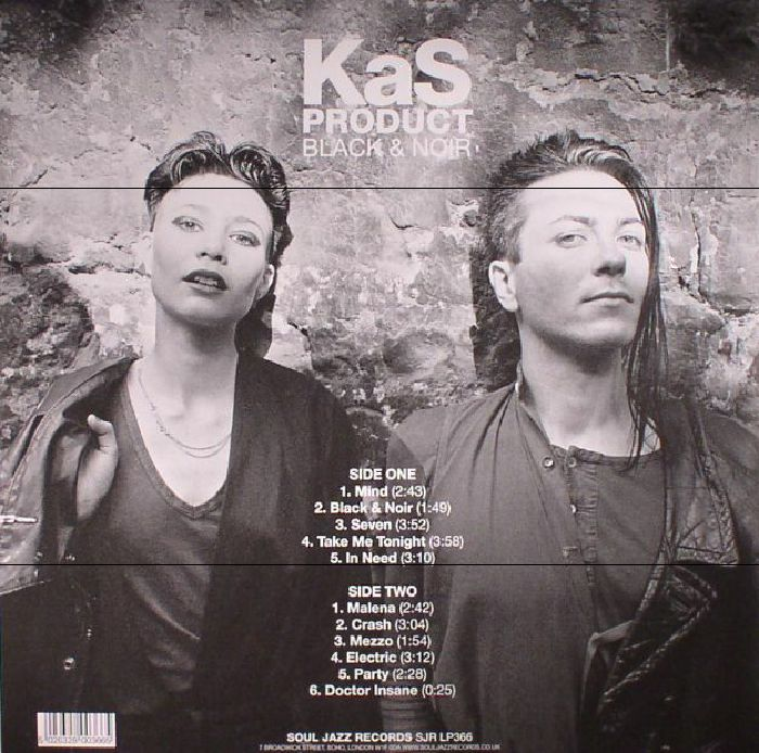 KAS PRODUCT - Black & Noir: Mutant Synth Punk From France 1980-83