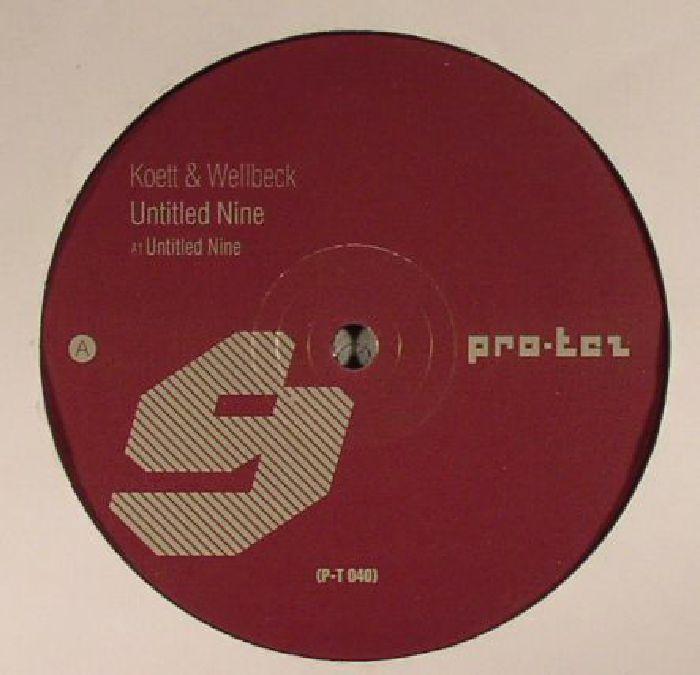 KOETT/WELLBECK - Untitled Nine EP