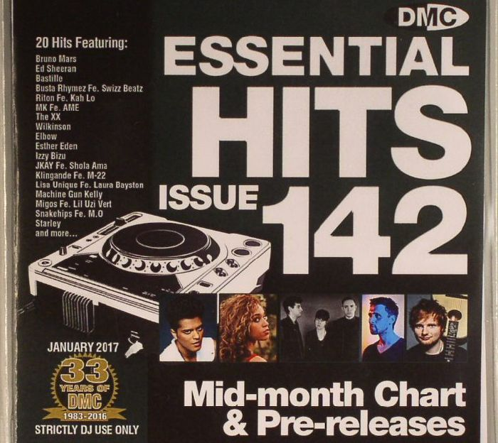 VARIOUS - DMC Essential Hits 142: Mid Month Chart & Pre-releases (Strictly DJ Only)
