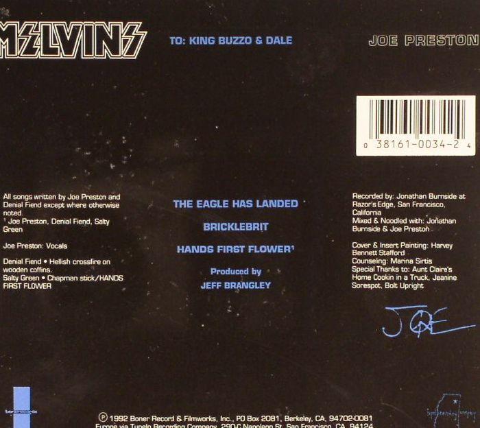 MELVINS - Joe Preston