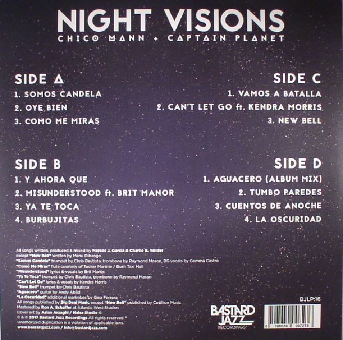 MANN, Chico/CAPTAIN PLANET - Night Visions