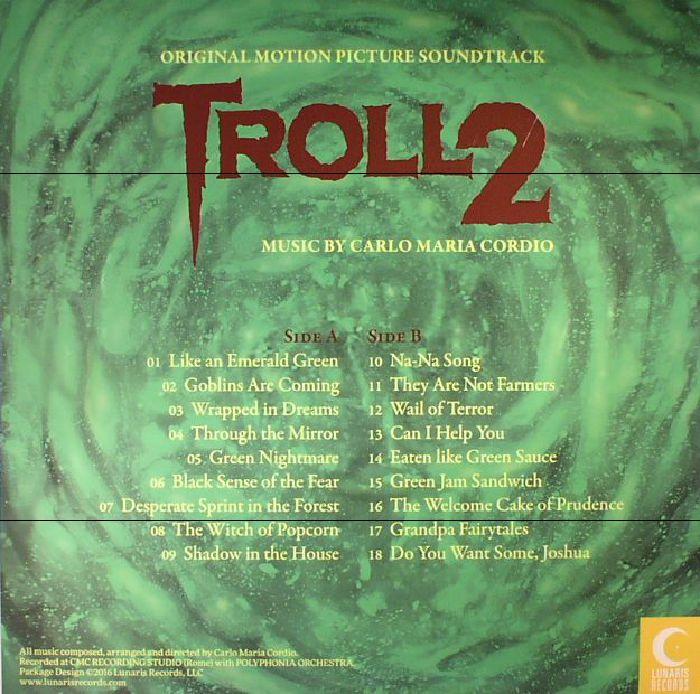 CORDIO, Carlo Maria - Troll 2 (Soundtrack)